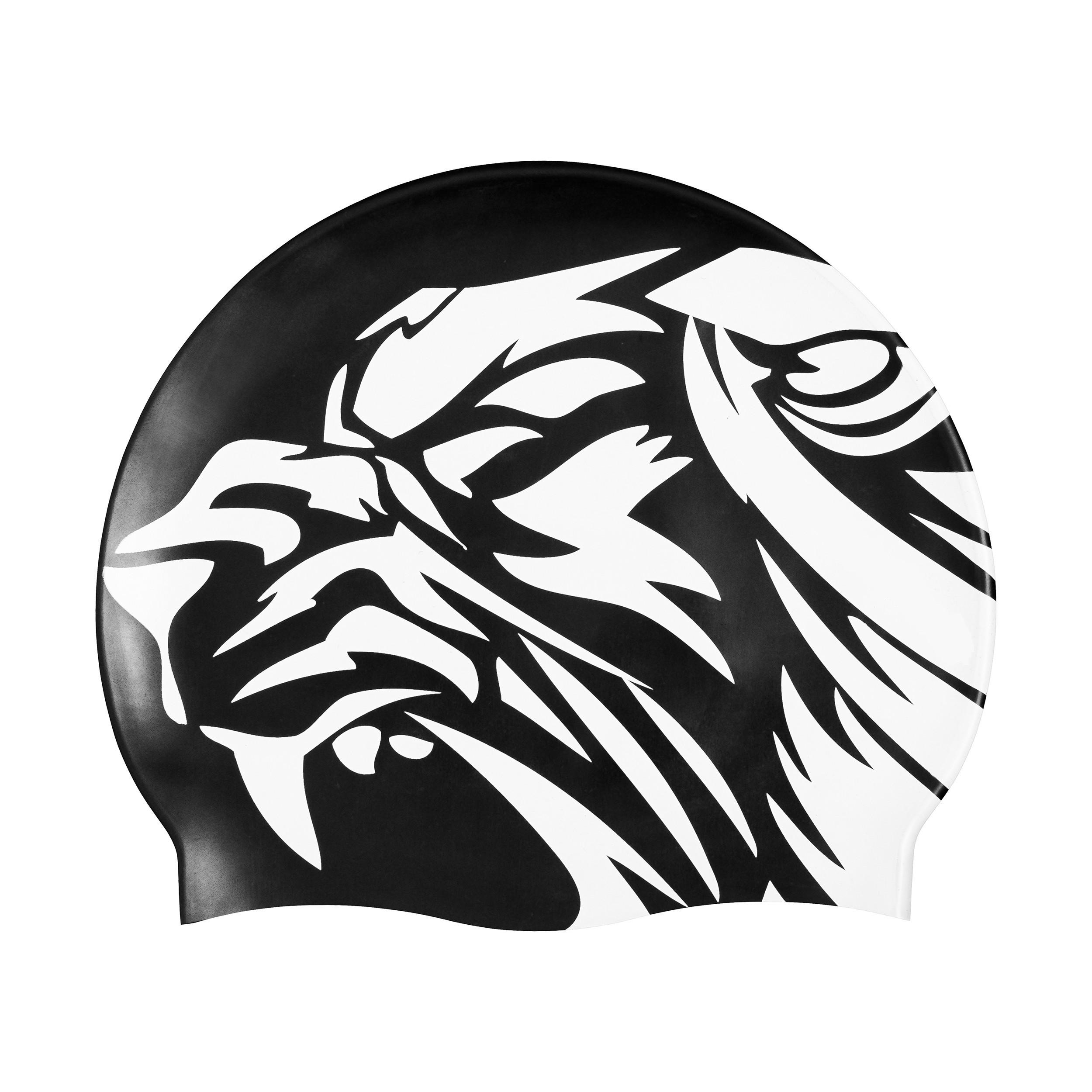 bonnet de bain avec logo